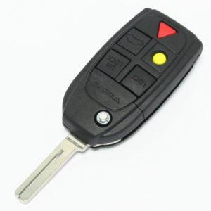 reparar llave mando volvo c70