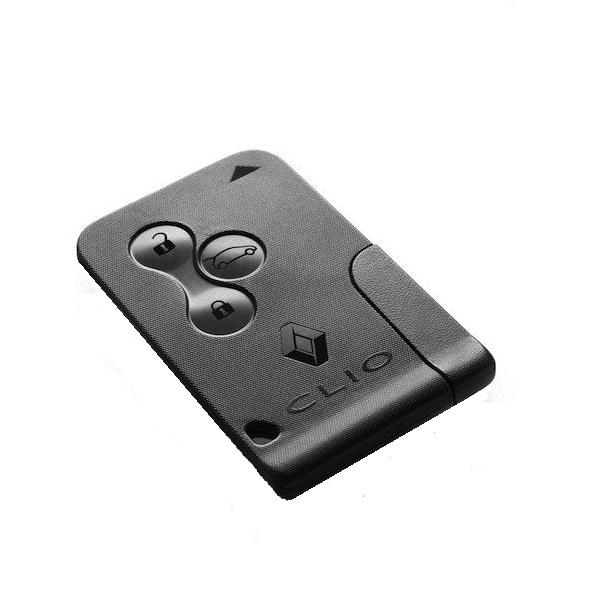 Tarjeta Mando a Distancia 3 Botones – RENAULT – CLIO