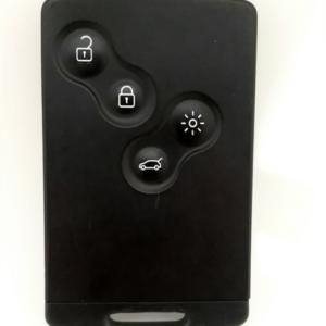 reparar llave tarjeta renault koleos